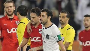 Xavi Hernández se volverán a enfrentar en la final de de la Copa del Emir de Catar