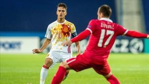 Denis afrontará mañana martes la semifinal del Europeo sub21 ante Italia