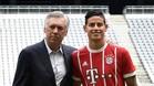 James Rodríguez ya está con Ancelotti