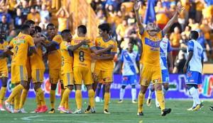 Tigres goleó al Puebla