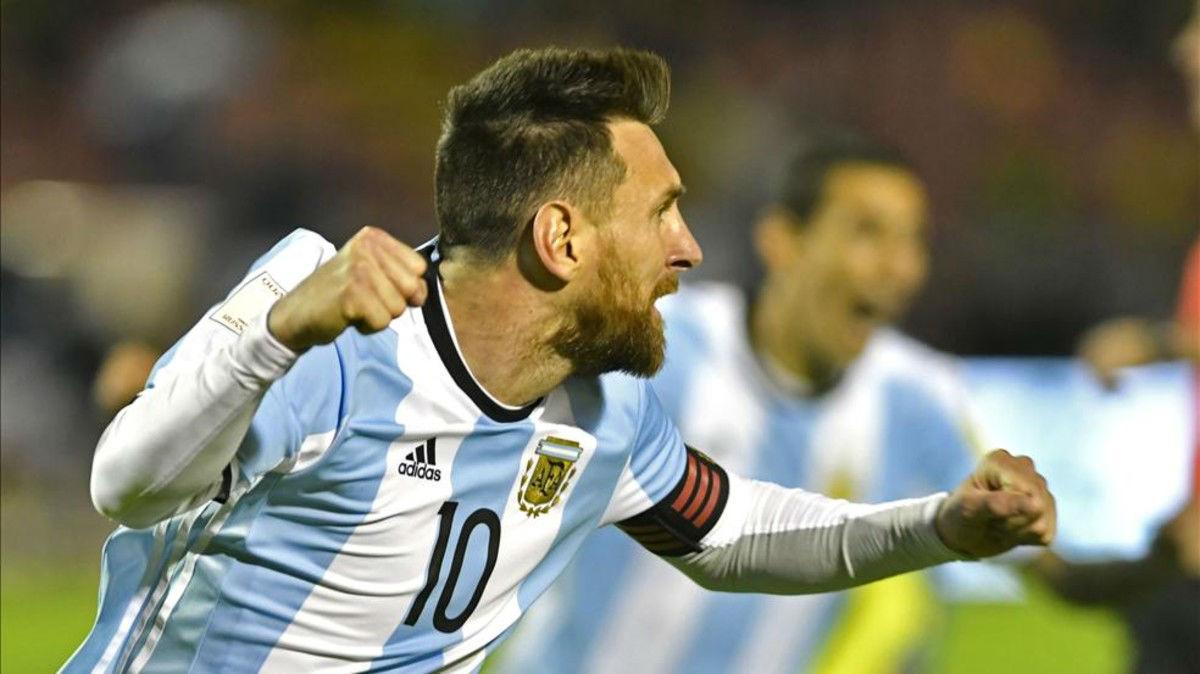 El hat-trick de Messi contra Ecuador