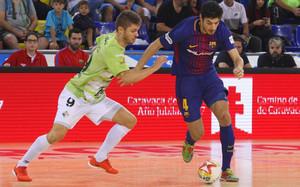El Barça Lassa se impuso al Palma Futsal en la segunda jornada de la LNFS