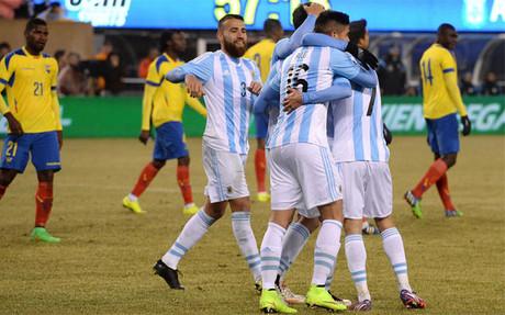 Argentina se impuso a Ecuador