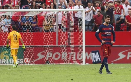 El FC Barcelona no ha comenzado bien la temporada en defensa