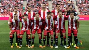 La columna vertebral del Girona está bien definida