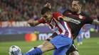 Correa gozó de una de las escasas ocasiones generadas por el Atlético