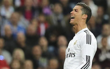 ¡Cristiano falló un penalti!