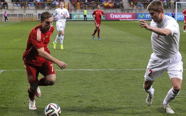 Deulofeu firmó un gran partido ante Bielorrusia