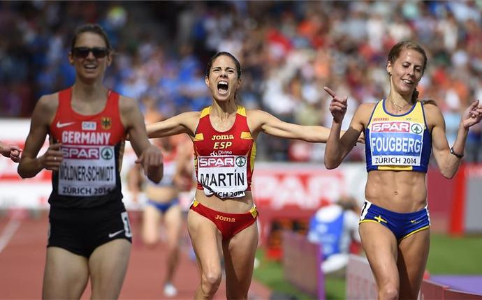 Diana Martín, bronce en 3.000 obstáculos