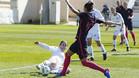 Jenni Hermoso marcó por partida doble ante el Albacete