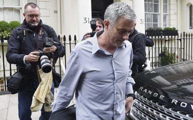 Jos� Mourinho, fotografiado este mi�rcoles en Londres