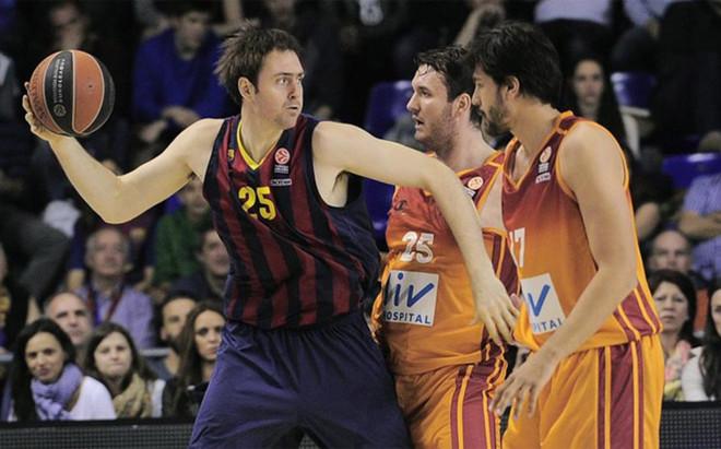 Lorbek jug� en el FC Barcelona entre 2009 y 2014