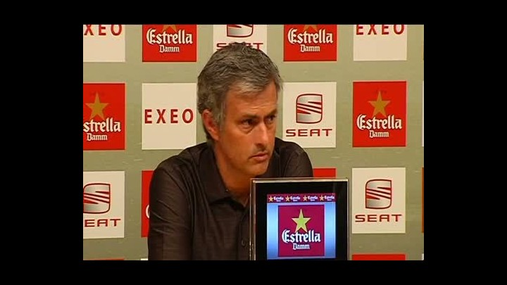 "Mourinho: ""�Pito Vilanova? No s� qui�n es ese Pito"""