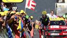 Nairo Quintana volvi� a pinchar y se despide del Tour