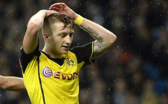 The future of Chelsea & PSG target Marco Reus in limbo after Barcelonas transfer ban [SPORT]