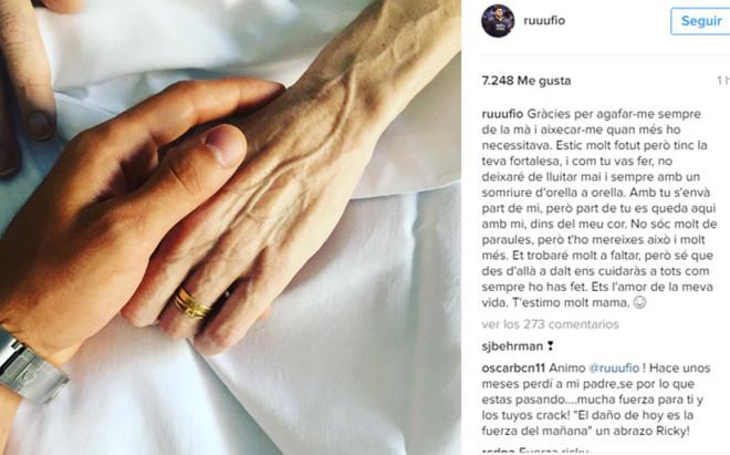Ricky Rubio y sus palabras a Tona Vives