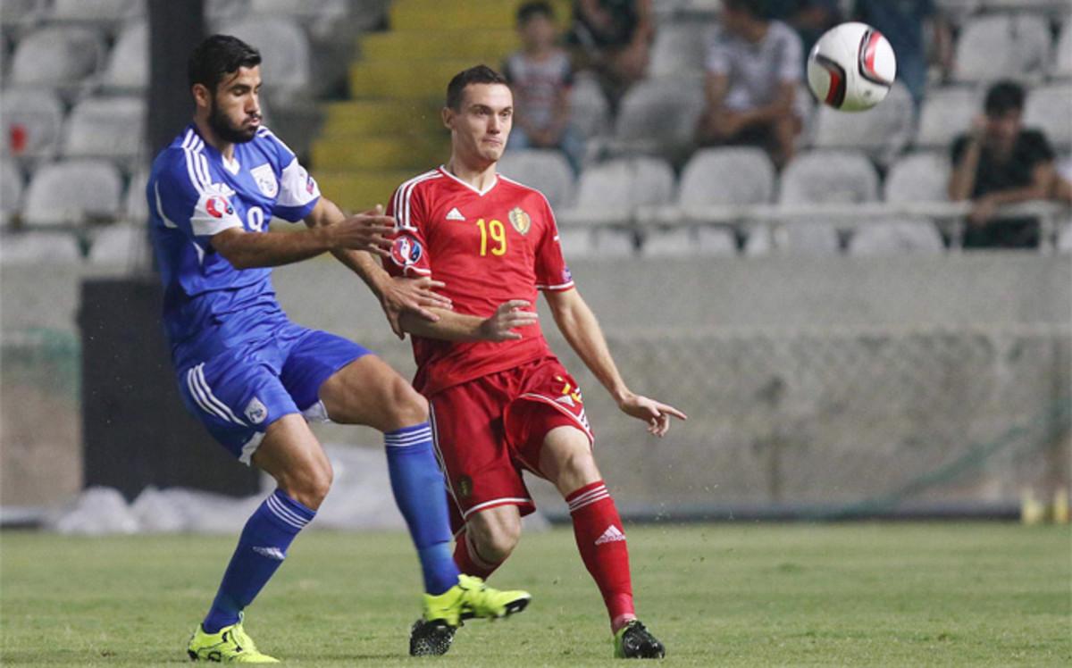 Vermaelen, convocando para el B�lgica - Portugal contra Cristiano Ronaldo