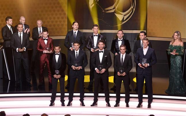 Estos fueron los premiados en Zúrich | Foto: AFP