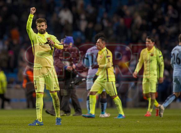 صور : مباراة مانشستر سيتي - برشلونة 1-2 ( 24-02-2015 )  1424816308318