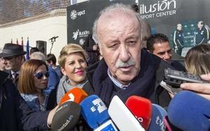 El seleccionador español Vicente Del Bosque