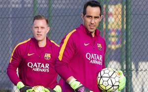 Bravo y Ter Stegen, porteros del Barcelona