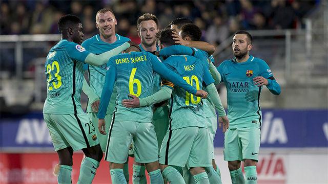 Video resumen del Eibar - FC Barcelona (0-4) - LaLiga Santander - Jornada 19