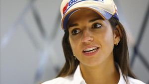 Cristina Gutiérrez, piloto del Rally Dakar
