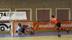 El duelo entre el REus y el Vic también se decidió en la tanda de penaltis