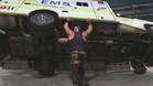 Braun Strowman, zarandeando la ambulancia