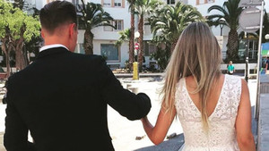 Ter Stegen y su pareja Daniela