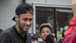Neymar, en Estados Unidos
