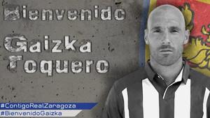 El Zaragoza anunció el fichaje de Toquero