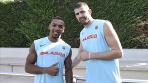 Pressey y Moerman, dos de los nuevos fichajes, fueron la gran novedad en la segunda jornada de pretemporada del Barça Lassa