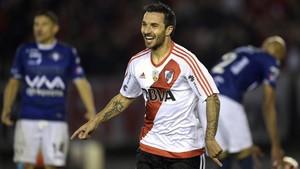 Scocco marcó cinco goles para River Plate