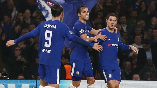 LACHAMPIONS   Chelsea - Roma (3-3): Hazard marcó un doblete
