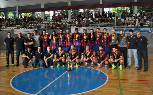 El Barça se llevó la Supercopa de Catalunya