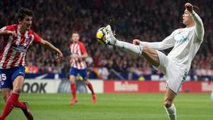 Cristiano Ronaldo volvió a fallar delante de portería