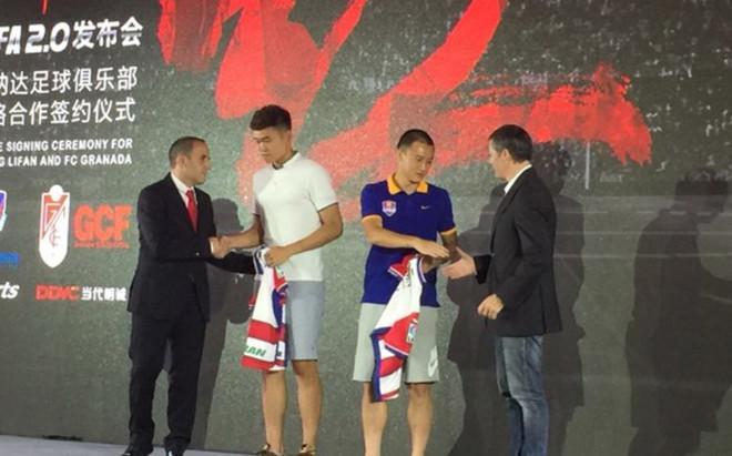 El Granada incorpora al meta chino Wang Zixiang tras su acuerdo de colaboración