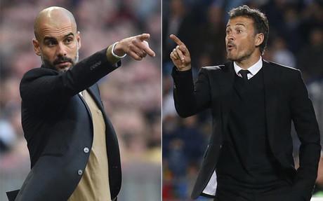 Guardiola y Luis Enrique han llevado a Bayern y Bar�a a un gran nivel este mes de noviembre