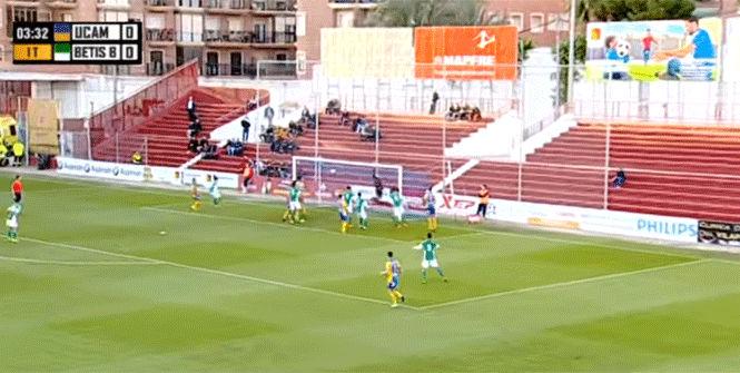 �Incre�ble gol ol�mpico en Segunda B!