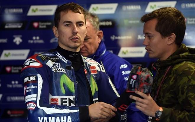 Lorenzo, sin confianza en su Yamaha