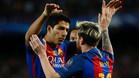'Hat trick' de Messi y pichichi en la Champions