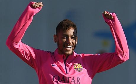 Neymar ha ganado peso en el equipo