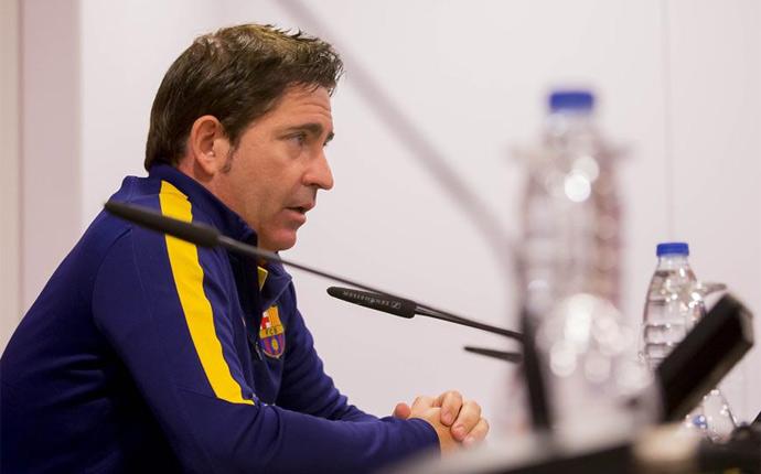 """Pascual: \""""Ojal� Eric Vila no se vaya y siga creciendo con nosotros\"""""""
