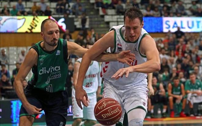 Rafa Luz y Bodanovic, durante el partido
