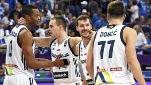 Randolph, Dragic y Doncic son los tres referentes ofensivos de la selección eslovena