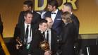 Iniesta ya tiene su podio para el Bal�n de Oro 2016