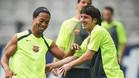 Ronaldinho, uno de los cracks que ha felicitado a Messi por sus 29 a�os