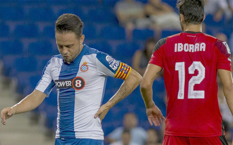 Sergio Garc�a sufri� una contusi�n lumbar contra el Sevilla