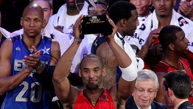 Viaja por todos los All Star Game de Kobe Bryant